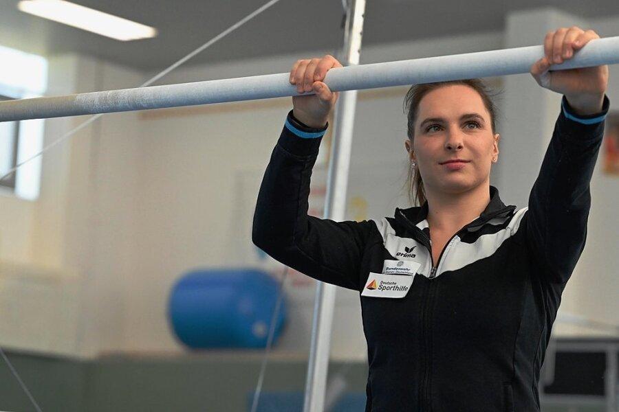 Turnerin Sophie Scheder von TuS Chemnitz-Altendorf erkämpfte mit Olympiabronze 2016 ihren bisher wertvollsten Erfolg.