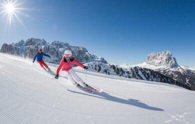 PeterRunggaldier - 1200 Kilometer endlose Pisten in der grandiosen Landschaft des Unesco-Welterbes der Dolomiten - das ist Wintersport in Südtirol.