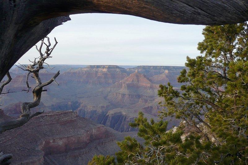 Für Blicke wie diesen kommen pro Jahr sechs Millionen Besucher: der Grand Canyon.