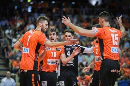 Die Berlin Volleys stehen dicht vor der Meisterschaft