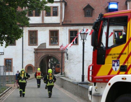 Das Glauchauer Schloss ist eins von insgesamt 29 Objekten in der Stadt, die über eine Brandmeldeanlage verfügen. Da sie aber mehr als 30 Jahre alt ist und nicht mehr richtig funktioniert, kommt es immer wieder zu Fehlauslösungen, sodass die Feuerwehr umsonst ausrücken muss.