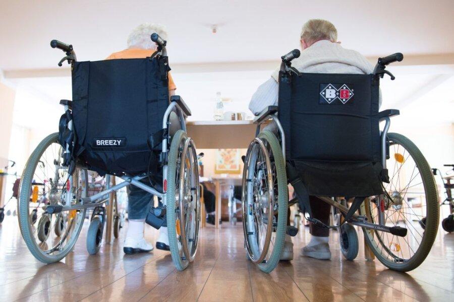 Corona: Nachfrage nach Plätzen in Sachsens Pflegeheimen sinkt