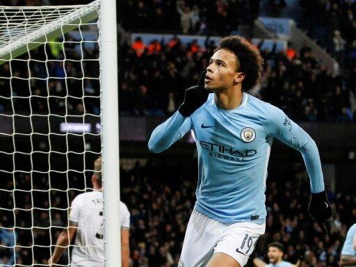 Leroy Sane schoss Manchester City früh in Führung