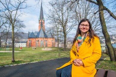 Lene Vogel ist die neue Jugendwartin für den Kirchenbezirk Aue.