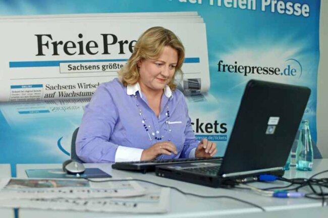 Antje Hermenau, Spitzenkandidatin der Grünen, im Wahl-Chat.
