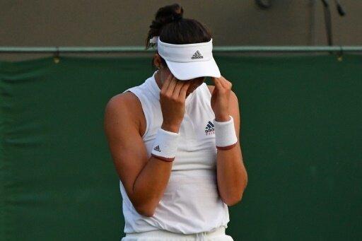 Titelverteidigerin Muguruza nach dem Aus in Wimbledon
