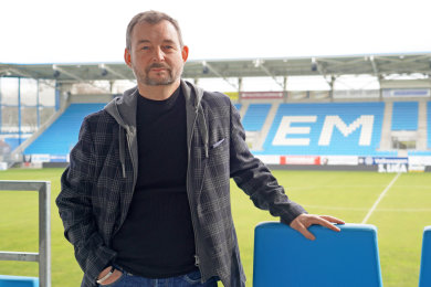 Martin Ziegenhagen, neuer Anti-Rassismus-Beauftragter des Chemnitzer FC.