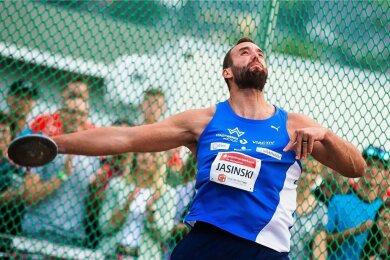 Generalprobe geglückt. Für Diskushüne Daniel Jasinski können die Olympischen Spiele kommen.