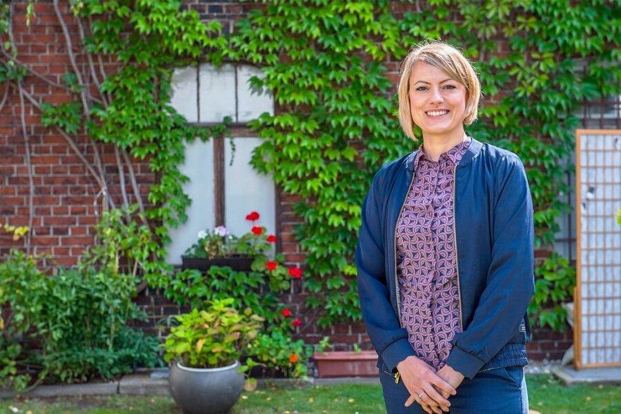 Bundestagskandidatin Clara Anne Bünger (Die Linke) ist in Freiberg aufgewachsen. Gerechtigkeit und Menschenrechte sind ihre beiden bestimmenden Themen. Neu ist das politische Parkett für sie nicht.