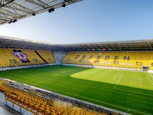"""Aktuell heißt die Spielstätte """"DDV-Stadion"""""""