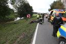 Zwei Motorradfahrer sind bei einem Unfall am Sonntagmorgen bei Remse schwer verletzt worden.