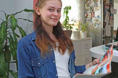 Leeja Klein aus Werdau hat sich für drei Monate Highschool im elf Flugstunden entfernten kanadischen Kelowna entschieden.
