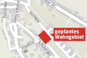 Gemeinde plant ein neues Wohngebiet