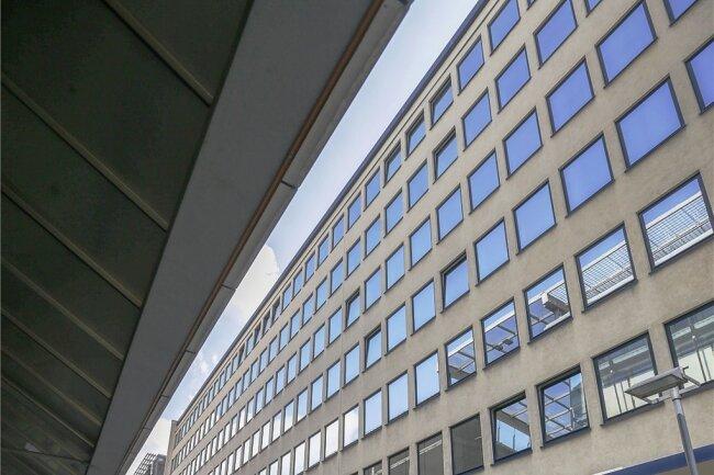 Das Gebäude des Gesundheitsamts in der Straße Am Rathaus.