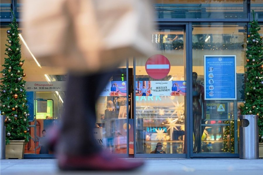 Wegen des angekündigten Lockdowns rechnet der Handelsverband Sachsen bis Samstag mit einem Ansturm auf die Geschäfte.