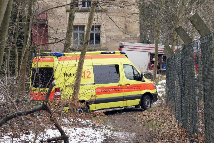 Schulklasse rettet hilflosen Mann in Hilbersdorf