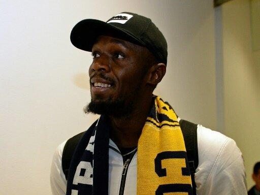Usain Bolt hat sein Debüt als Fußballer gefeiert
