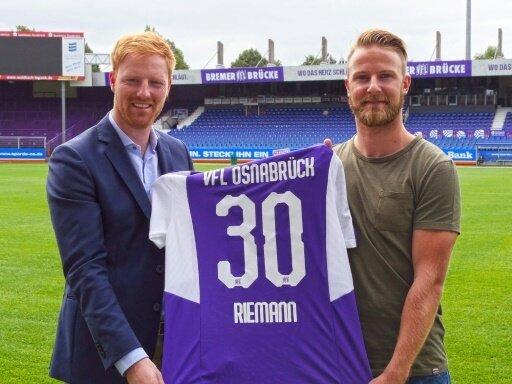 Der VfL Osnabrück verpflichtet Alexander Riemann