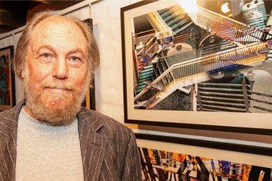 Harry Kurz gehört zu den fränkischen Lichtmalern, die derzeit in der Plauener Malzhausgalerie Fotos ausstellen.