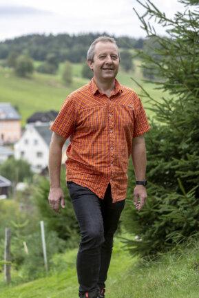 Sebastian Nestler - künftiger Bürgermeister der Gemeinde Sehmatal