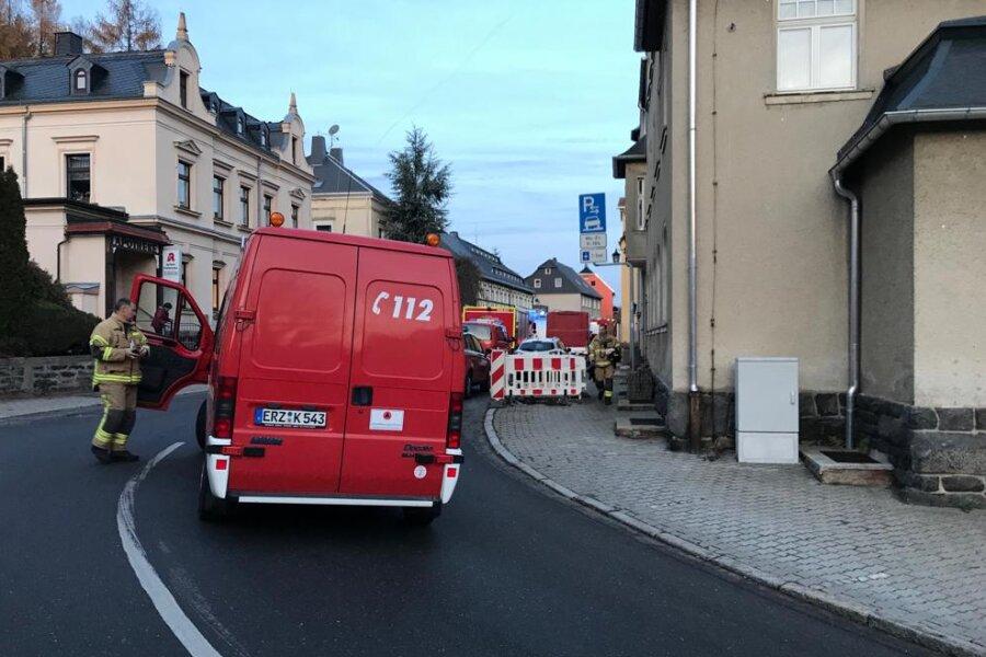 ABC-Einsatz in Grünhainichen abgebrochen