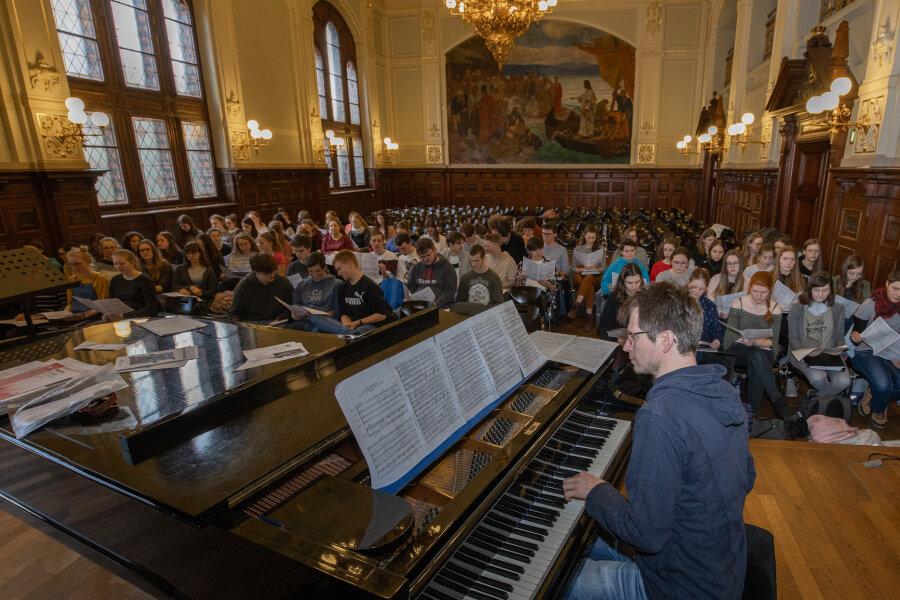 Annaberger Schüler bei großem Deutschen Chorfest dabei