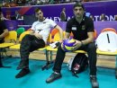 Nations League: Andrea Giani (r.) zieht positives Fazit