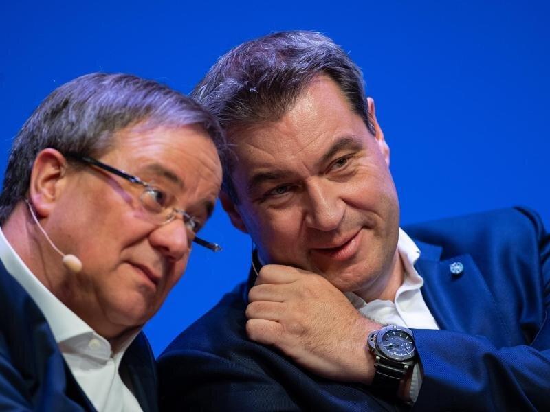 Wer wird Kanzlerkandidat der Union - Laschet oderSöder?.