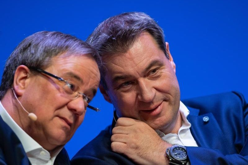 Wer wird Kanzlerkandidat der Union - Laschet oderSöder?