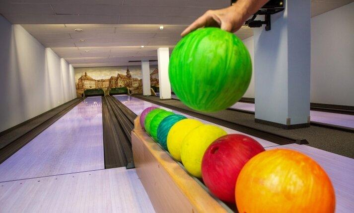 Hoffnung besteht auch für die Bowlingbahn im Keller des Gasthauses: Hier sollen die Pins später wieder fallen.