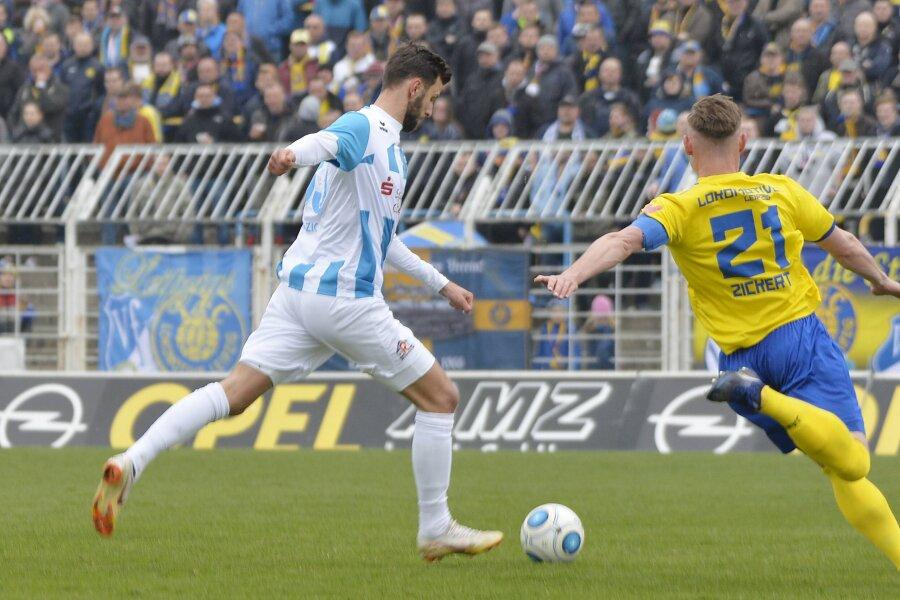 Nach 2:0-Führung stellt Chemnitz die Arbeit ein