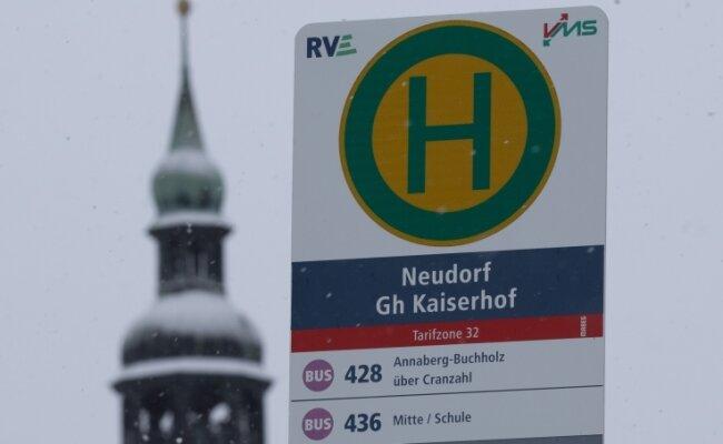 Die Linie 428 verbindet Sehmatal mit Annaberg und Oberwiesenthal - bisher aber nur wochentags.