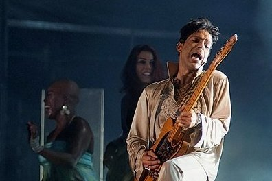 Prince live in Aktion.