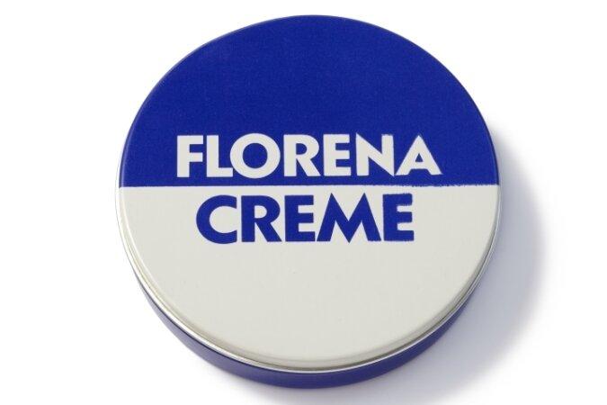 Blau und weiß: Was dem Westdeutschen die Nivea-Creme, ist dem Ostdeutschen Florena.