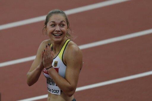 Gina Lückenkemper steht souverän im Finale über 100 m