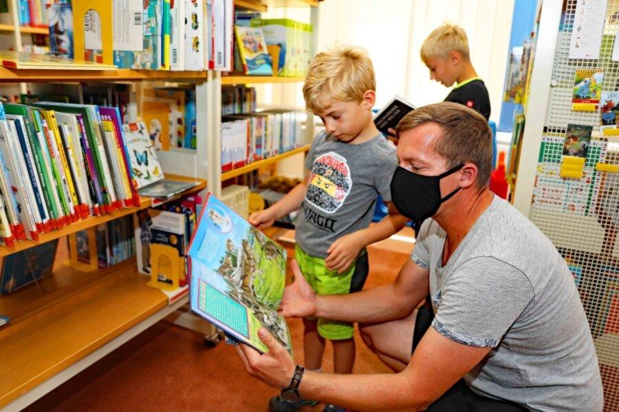 Bibliothek Werdau in Ferien gefragt