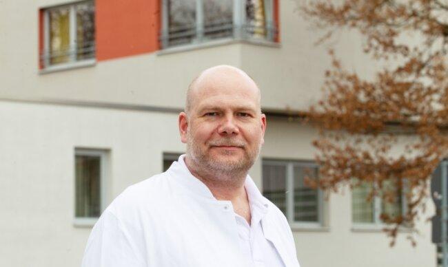 Einer für zwei Kliniken: Gefäßchirurg Georg von Gagern leitet seit April die Geschicke der Fachabteilungen in den Helios-Krankenhäusern Plauen und Aue.