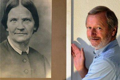 Dietmar Lippert in der Amalie-Dietrich-Gedenkstätte.