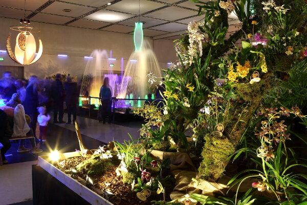 Sachsens blütenreichste Messe -  DRESDNER OSTERN mit Internationaler Orchideenwelt