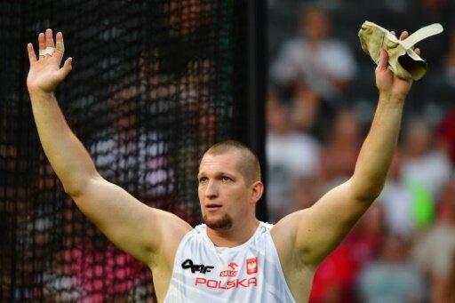 Wojciech Nowicki freut sich über seinen ersten EM-Titel