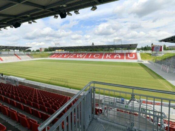 Der FSV Zwickau arbeitet für die verbliebenen sechs Heimspiele in diesem Jahr mit einem rotierenden Zuschauersystem