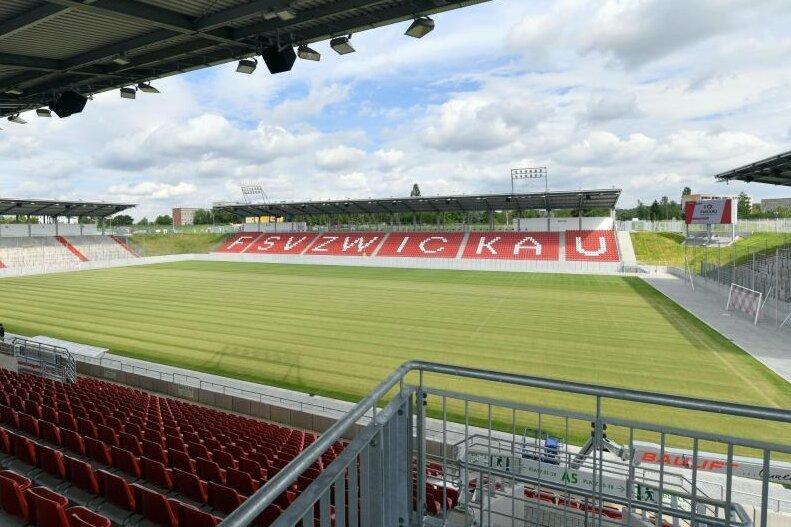 Die GGZ-Arena in Zwickau.