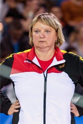 Trainerin Gabriele Frehse.