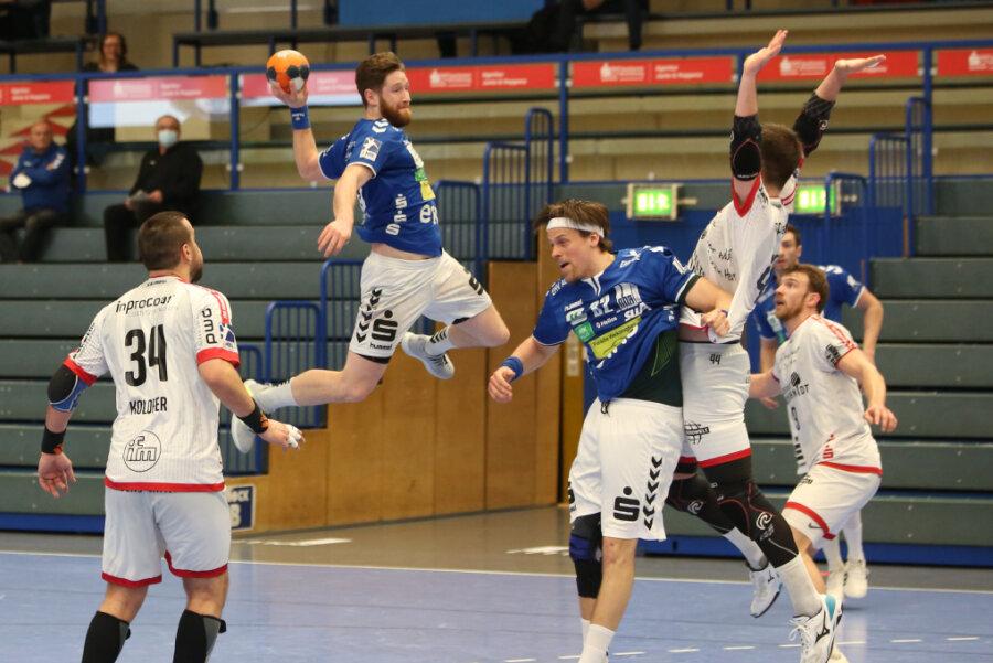 Handball: EHV Aue bleibt auch im fünften Spiel in Folge ungeschlagen