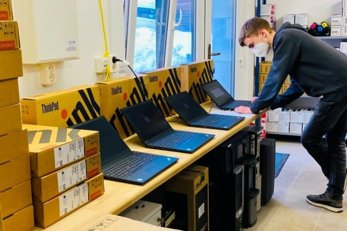 Brand-Erbisdorfer Oberschule wird digital