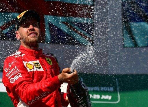 Sebastian Vettel musste sich mit Platz zwei begnügen