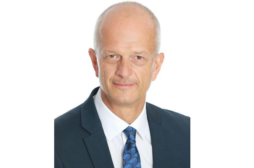 Bürgermeisterkandidat für Netzschkau: Amtsinhaber Mike Purfürst (Gewerbeverein).