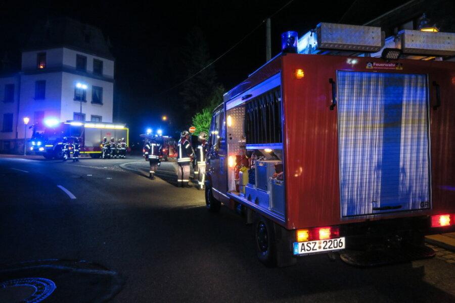 Industriebrache in Grünhain-Beierfeld teilweise eingestürzt