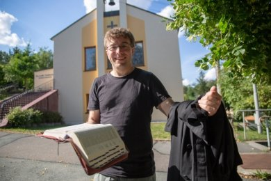 Holger Weiß unterrichtet seit 2009 am Lutherisches Theologisches Seminar in Leipzig. Nun wechselt er komplett an die Ausbildungsstätte, deren Rektor er auch ist.