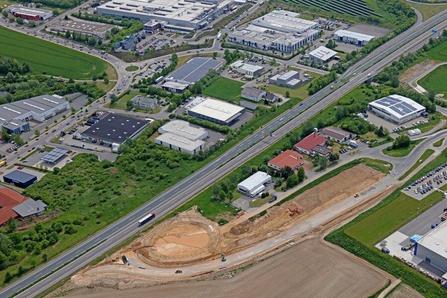 Für die Autobranche: Industriepark bekommt eigene Auffahrt auf die B 93